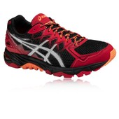 Asics Gel-Fujitrabuco 4 Hommes Rouge Support Running Sport Chaussures Baskets