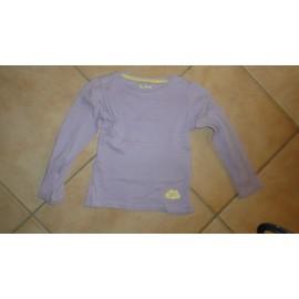 T-Shirt La Halle Coton 4 Ans Violet