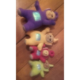 Lots 4 Peluches Teletubbies