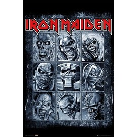 Iron Maiden Poster - Eddies (91x61 cm)