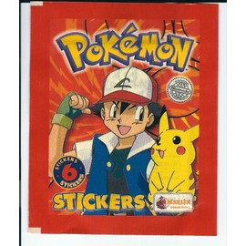Booster 6 Stickers/Autocollants Pok�mon Merlin Coolections