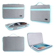 Savfy� Housse Sacoche Pour Ordinateur Portable / Macbook / Macbook Pro / Macbook Air 13,3 Pouces, Bleu