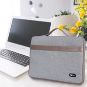 Savfy� Housse Sacoche Pour Ordinateur Portable / Macbook / Macbook Pro / Macbook Air 13,3 Pouces, Gris