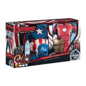 Coffret D�guisement Iron Man + Captain America - Avengers - 5/6ans