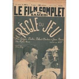 Le Film Complet N� 2320 Bis : La R�gle Deu Jeu, De Jeran Renoir