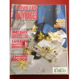Broderie Tous Les Ouvrages N� 17