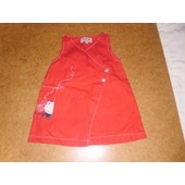 Robe Canari Baby 6 Mois Rouge
