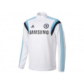 Cfc Trg Top Blc - Sweat Chelsea Football Homme Adidas