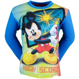 Mickey T-Shirt Manches Longues Gar�on High Score - Petite Frappe
