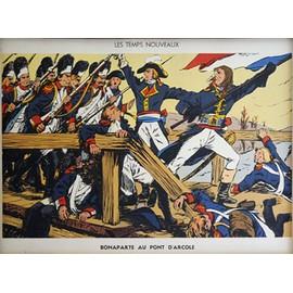 Affiche Scolaire Sudel - 28 : Bonaparte Au Pont D'arcole - 32 : Une �cole D'autrefois