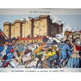 Affiche Scolaire Sudel - 25 : Les Parisiens Attaquent La Bastille (14 Juillet 1789) - 29 : La Prise D'alger