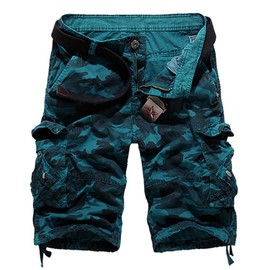 Hommes Cargo Shorts De Camouflage Mode Multi-Poches