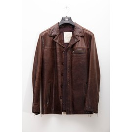 Blouson Oakwood Cuir M Marron