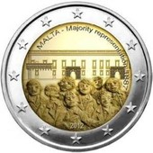 2 Euros Malte Commemorative 2012