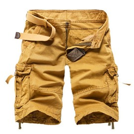 Cargo Shorts Homme Mode Shorts Camouflage Casual V�tement Multi-Poches