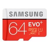 Samsung EVO+ MB-MC64D - Carte m�moire flash ( adaptateur microSDXC vers SD inclus(e) )