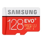 Samsung EVO+ MB-MC128D - Carte m�moire flash ( adaptateur microSDXC vers SD inclus(e) )