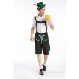 S - Xxl New Halloween Mascarade Cosplay V�tements Britannique Hommes Pantalons Travailleurs Agriculteurs Oktoberfest Beer Man Costumes