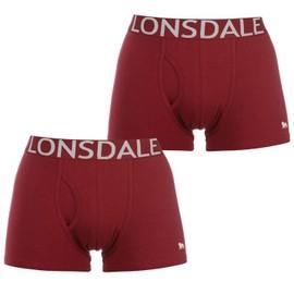 Lot De 2 Boxer Lonsdale Homme