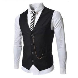 Gilet Hommes Slim Fit Costume De Mariage Vest