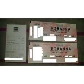 Places de concert rihanna 23/07/2016