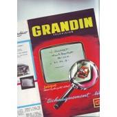 Brochure Publicitaire Grandin - Television - Depliant