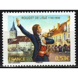 france 2006, très bel exemplaire yvert 3939, hommage à rouget delisle, neuf** luxe