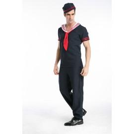 Nouvelle Arriv�e Amoureux Halloween Marine Hommes Et Femmes Soldat Cosplay Costumes V�tements De Performance De Sc�ne Mascarade Marin