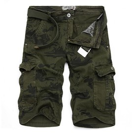 Cargo Shorts Hommes Mode Shorts De Camouflage Casual V�tement Style Sports