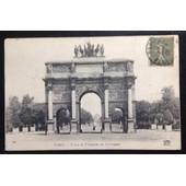 Carte Postale Paris L Arc De Triomphe Du Carrousel