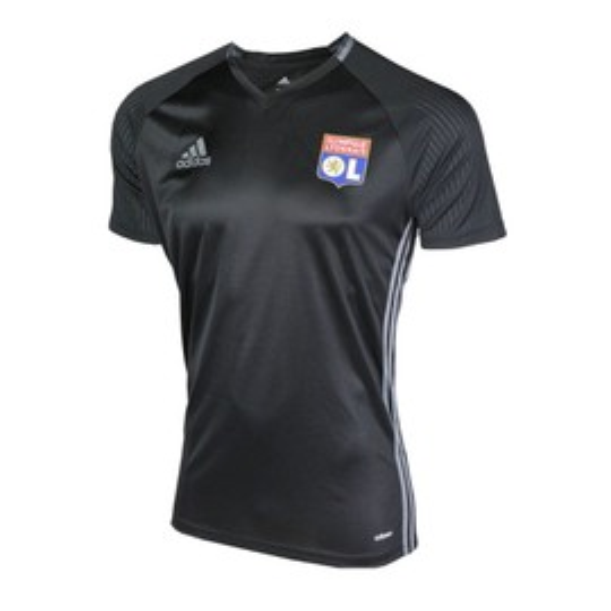 2016-2017 Olympique Lyon Adidas Training Shirt (Black)