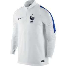 2016-2017 France Nike Drill Top (White)