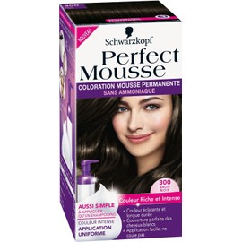 Perfect Mousse - Coloration Permanente - Brun Noir 300