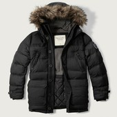 Blouson Abercrombie And Fitch Hooded Puffed Parka