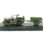 Jeep Willys Mb 101st Airborne Division Normandie (France)-1944