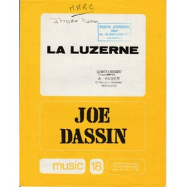 JOE DASSIN PARTITION LA LUZERNE