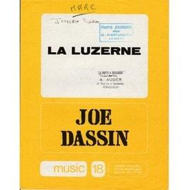 JOE DASSIN PARTITION LA LUZERNE