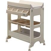 Ib-Style - Table � Langer Avec Baignoire - 3 D�cors Aux Choix - Matelas Et Commode - Mod�le