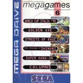 Mega Games 6 : World Cup Italia '90, Super Hang On, Streets Of Rage, The Revenge Of Shinobi, Columns, Golden Axe