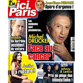 Ici Paris 3666 Jenifer Johnny Hallyday Muriel Robin Amel Bent M.Pokora Gerald Dahan Cristina Cordula