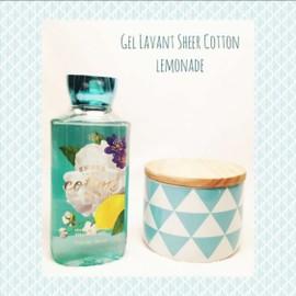 Gel Lavant Sheer Cotton Lemonade Bath And Body Work