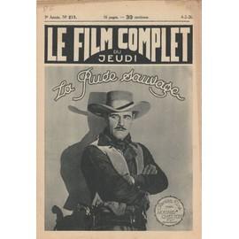 Le Film Complet N� 213 : La Ru�e Sauvage, Avec Jack Holt
