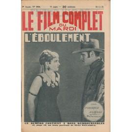 Le Film Complet N� 954 : L'eboulement, Avec Jack Holt