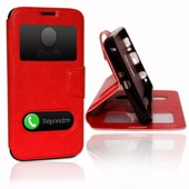 Samsung Galaxy S6 �tui Housse Coque Rouge By Ph26