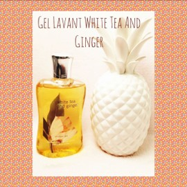 Gel Lavant White Tea And Ginger Bath And Body Works