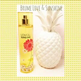 Bath And Body Works Brume Love & Sunshine Eau De Toilette Vaporisateur 236 Ml