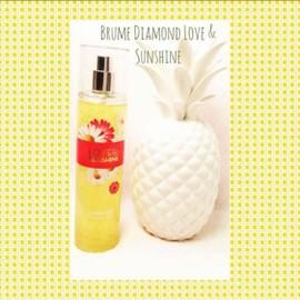 Bath And Body Works Brume Diamond Love & Sunshine Eau De Toilette Vaporisateur 236 Ml