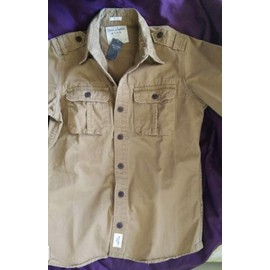 Chemise Abercrombie & Fitch Neuve Taille M Camel