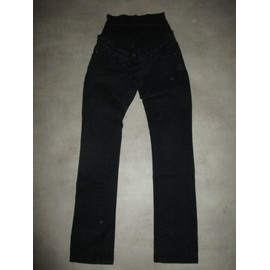 Pantalon Ligne Maternit� Taille 38 Noir