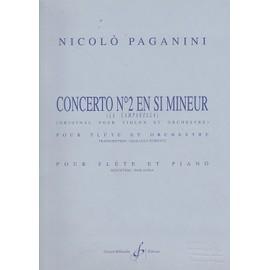 Concerto N° 2 en Si Mineur - Transcription Flûte et piano
